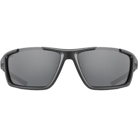 UVEX Sportstyle 310 Glasses black matt/mirror silver